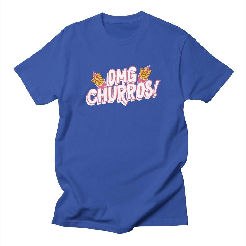OMG Churros Women's Regular Unisex T-Shirt by Toxic Onion