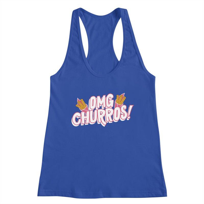 OMG Churros Women's Racerback Tank by Toxic Onion