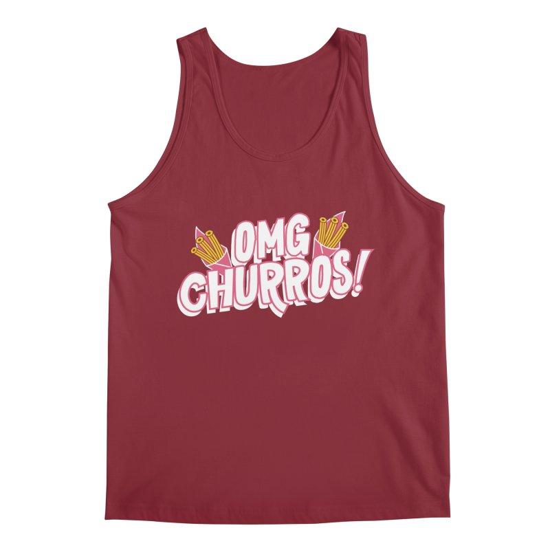 OMG Churros Men's Tank by Toxic Onion