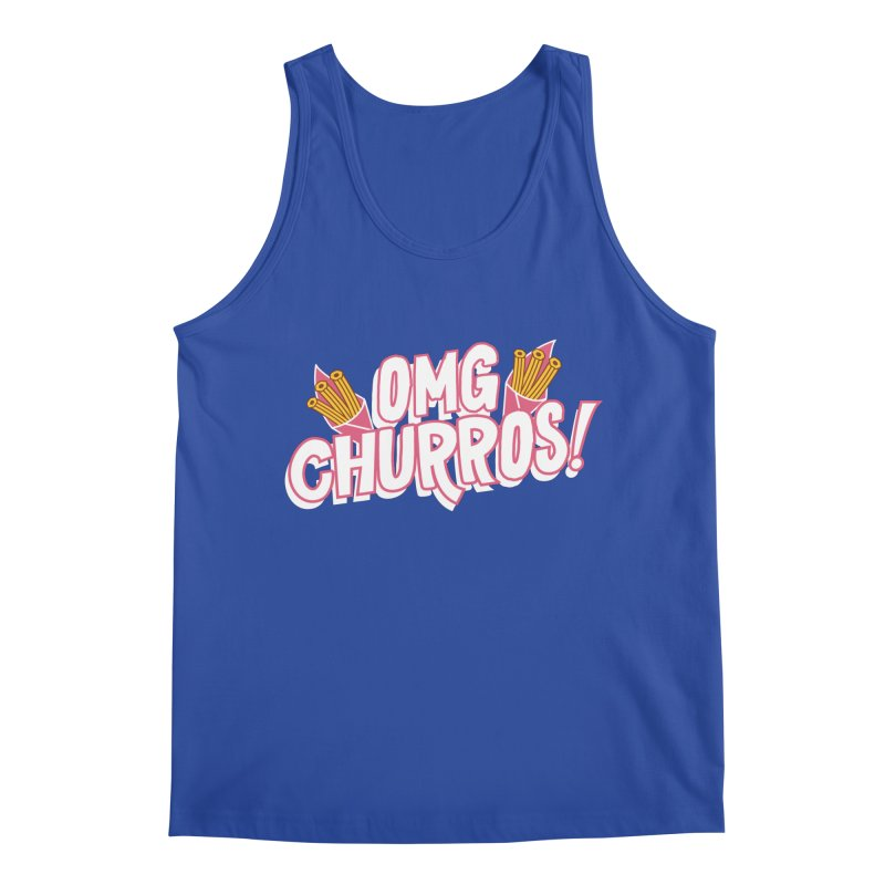 OMG Churros Men's Regular Tank by Toxic Onion