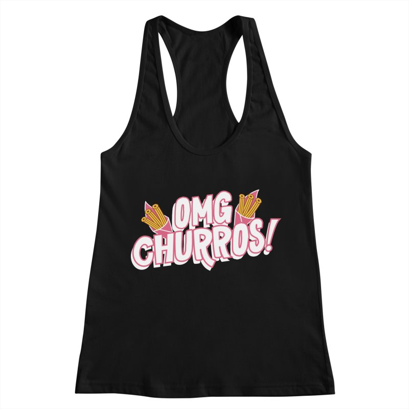 OMG Churros Women's Racerback Tank by Toxic Onion