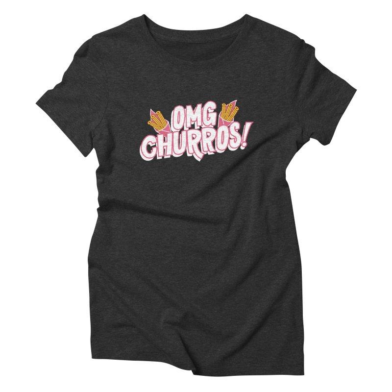 OMG Churros Women's T-Shirt by Toxic Onion