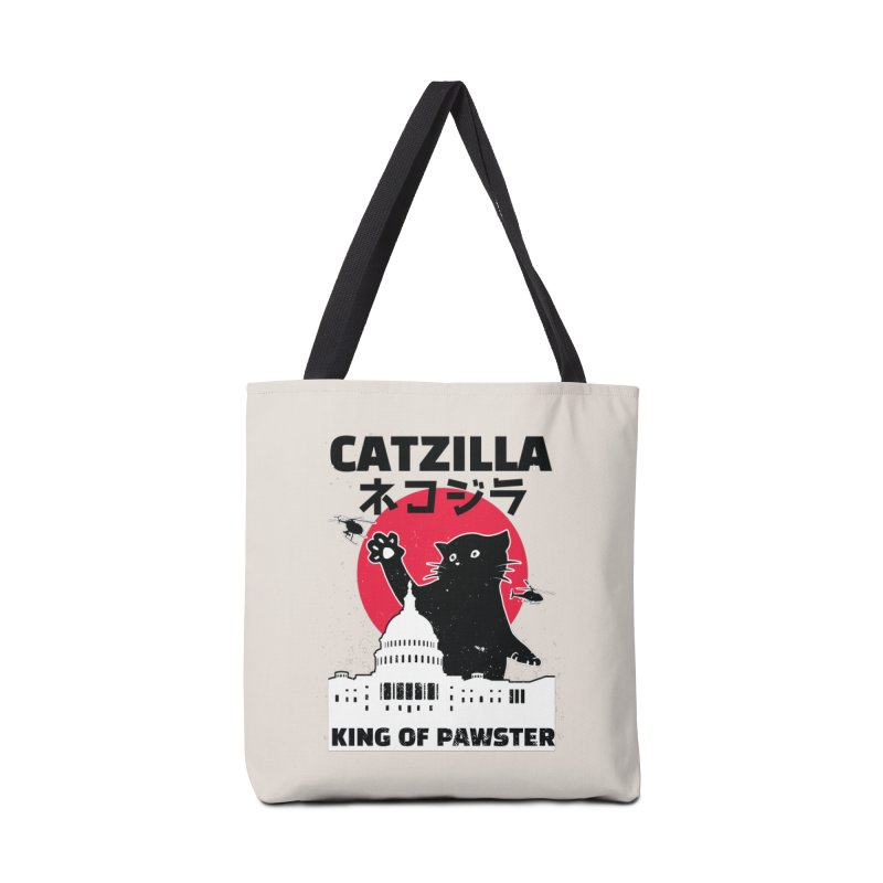 Catzilla Accessories Tote Bag Bag by Toxic Onion