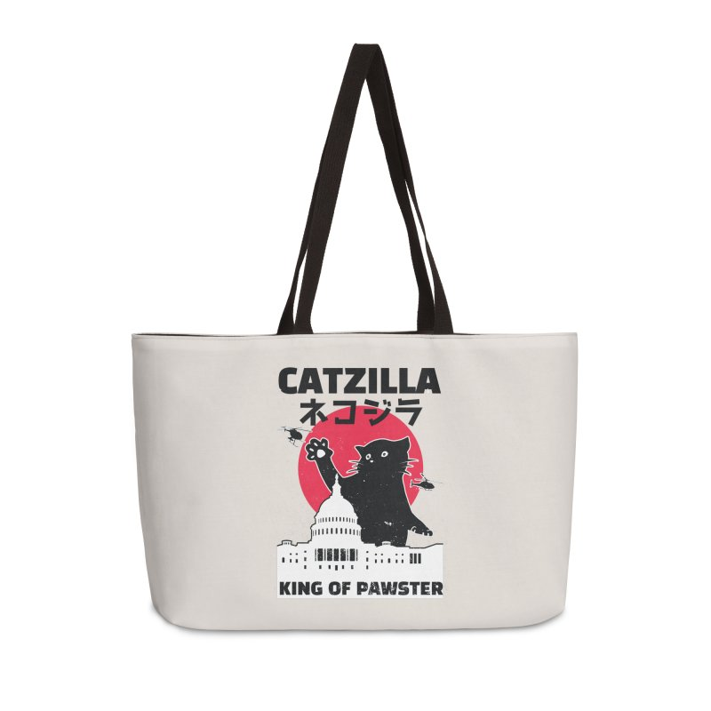 Catzilla Accessories Weekender Bag Bag by Toxic Onion