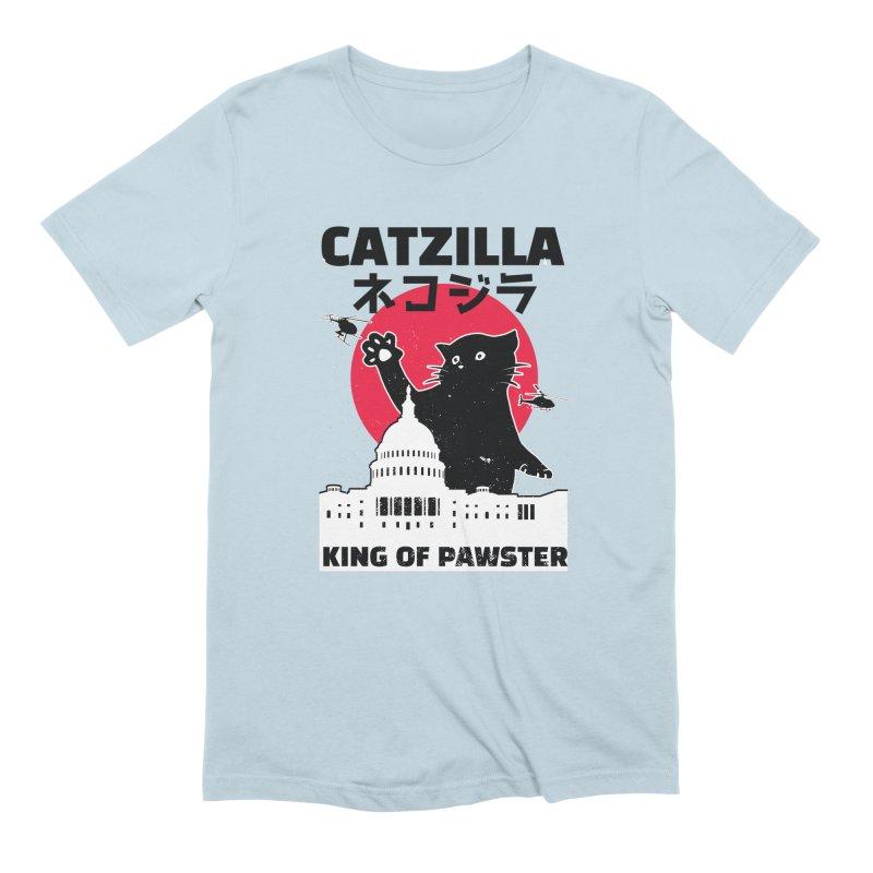 Catzilla Men's Extra Soft T-Shirt by Toxic Onion