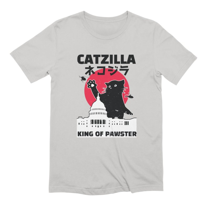 Catzilla Men's Extra Soft T-Shirt by Toxic Onion