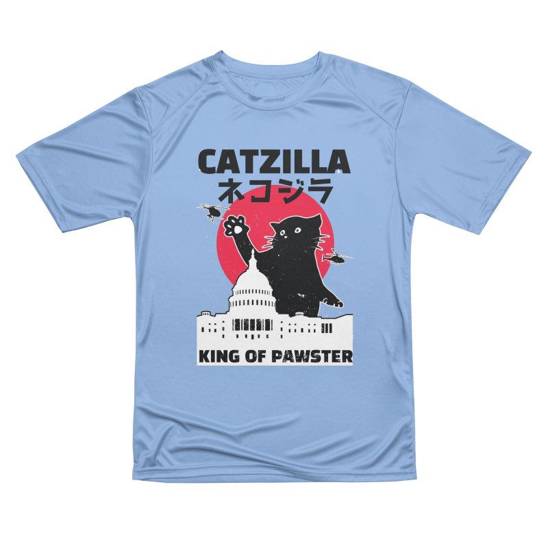 Catzilla Women's Performance Unisex T-Shirt by Toxic Onion