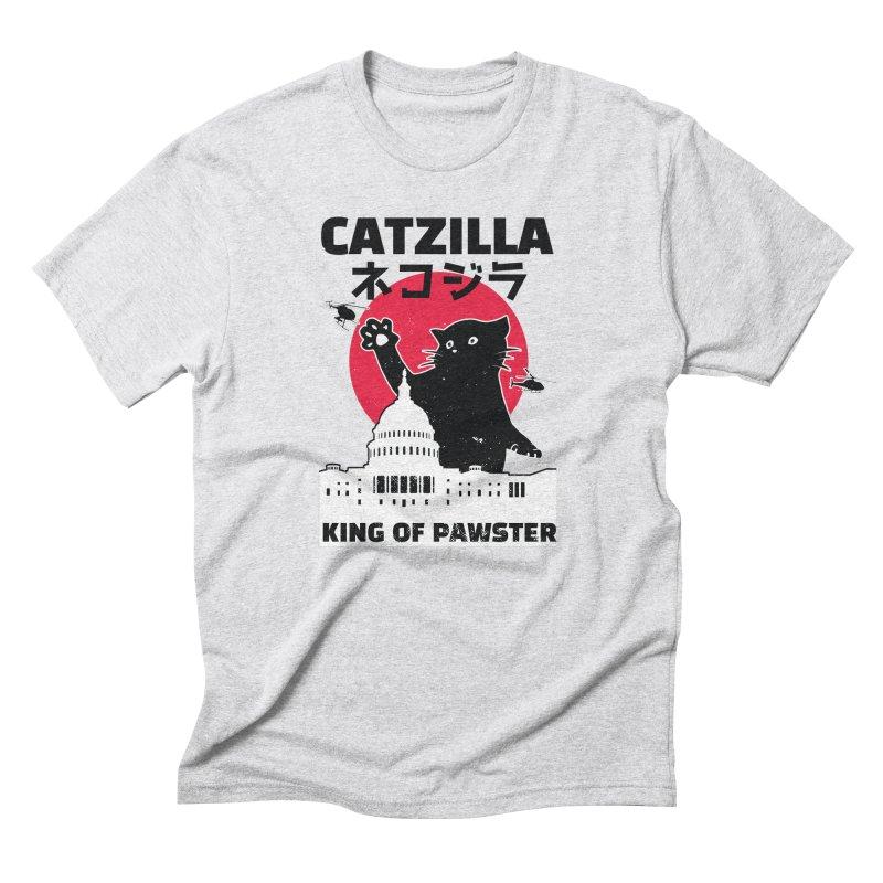 Catzilla Men's Triblend T-Shirt by Toxic Onion