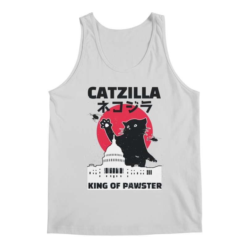 Catzilla Men's Regular Tank by Toxic Onion