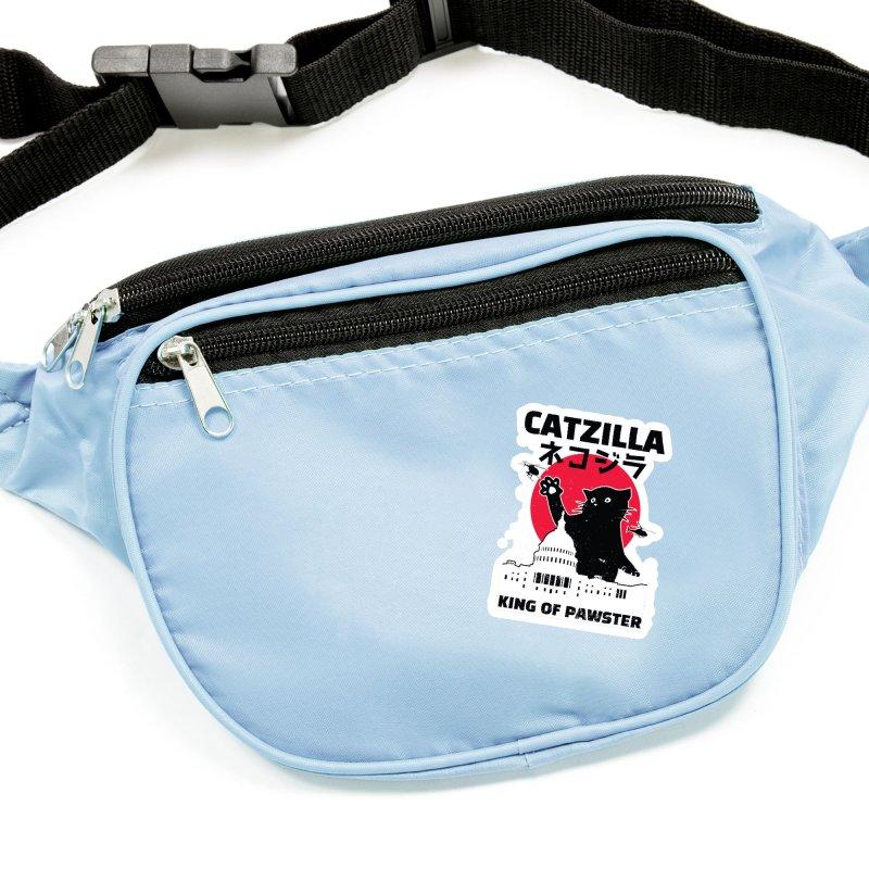 Catzilla Accessories Sticker by Toxic Onion