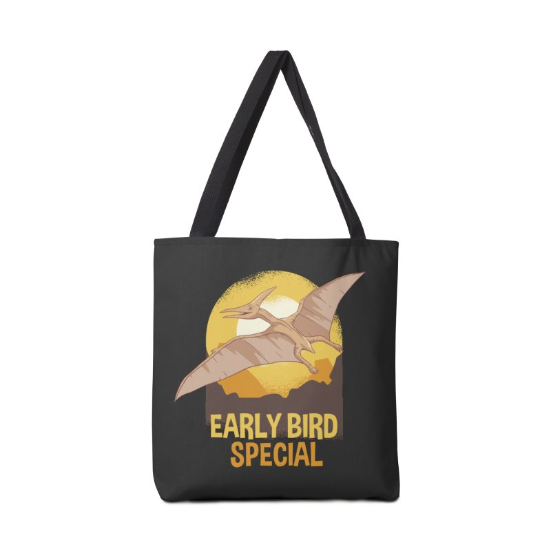 Early Bird Special Accessories Tote Bag Bag by Toxic Onion