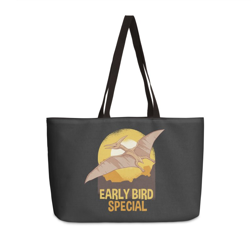 Early Bird Special Accessories Weekender Bag Bag by Toxic Onion
