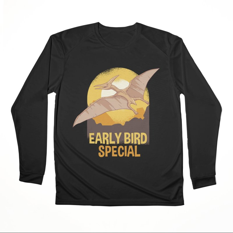 Early Bird Special Women's Longsleeve T-Shirt by Toxic Onion