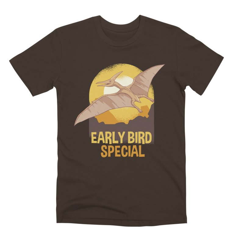 Early Bird Special Men's Premium T-Shirt by Toxic Onion