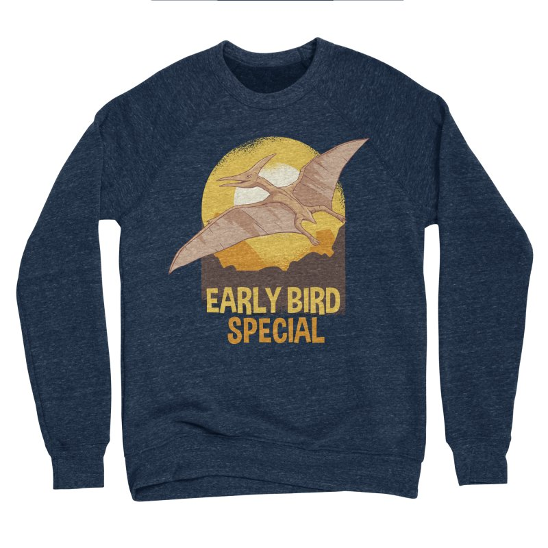 Early Bird Special Women's Sponge Fleece Sweatshirt by Toxic Onion
