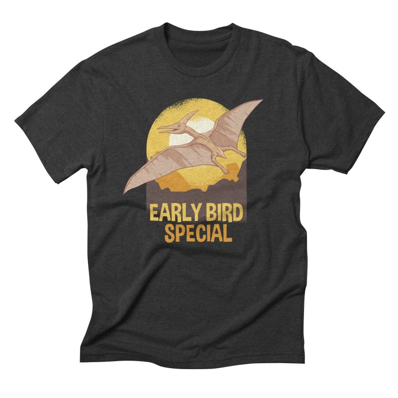 Early Bird Special Men's T-Shirt by Toxic Onion