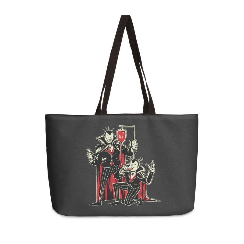 Vampire Blood Bong Accessories Weekender Bag Bag by Toxic Onion