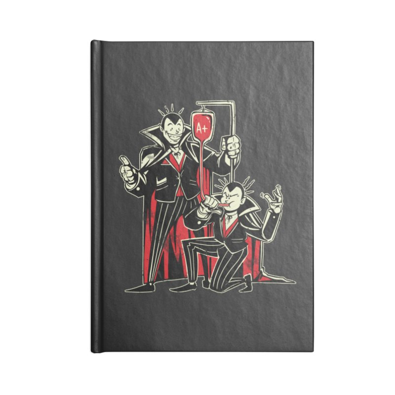 Vampire Blood Bong Accessories Notebook by Toxic Onion