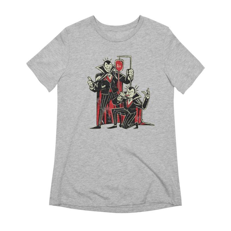 Vampire Blood Bong Women's Extra Soft T-Shirt by Toxic Onion