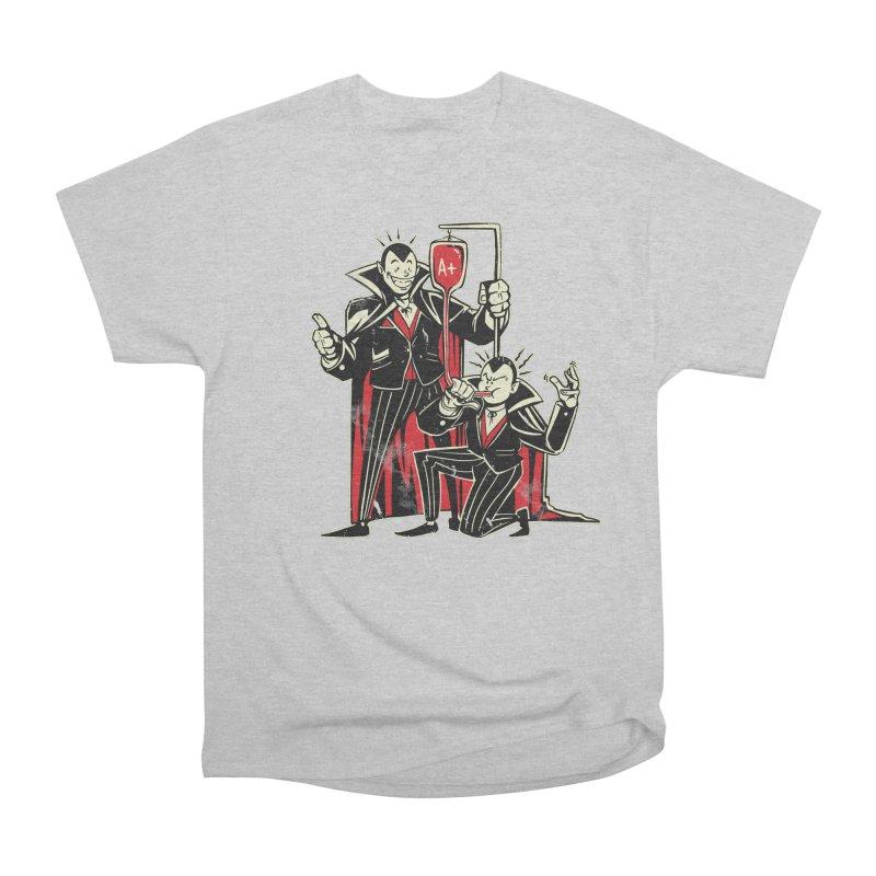Vampire Blood Bong Men's Heavyweight T-Shirt by Toxic Onion