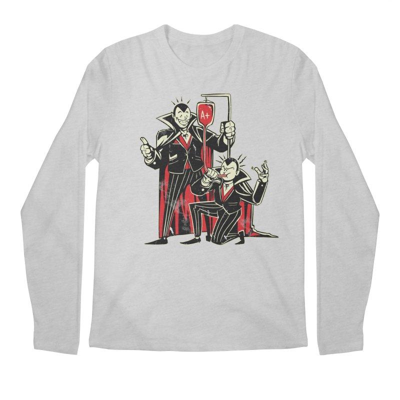 Vampire Blood Bong Men's Regular Longsleeve T-Shirt by Toxic Onion