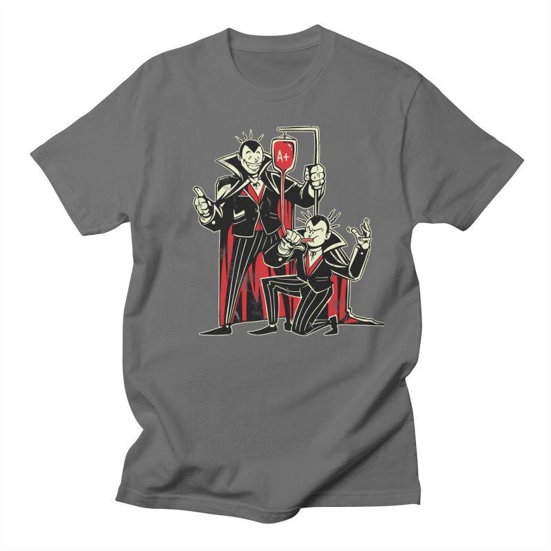 Vampire Blood Bong Men's Regular T-Shirt by Toxic Onion