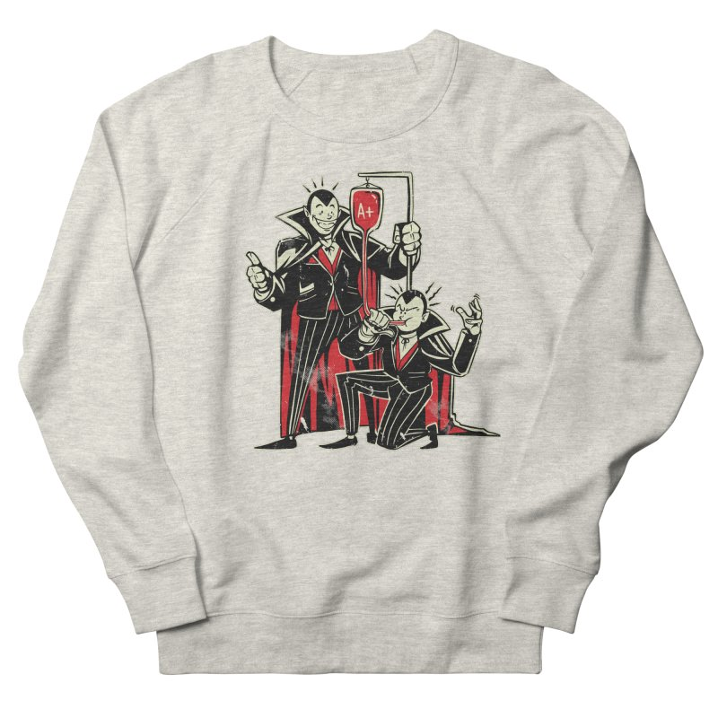 Vampire Blood Bong Women's French Terry Sweatshirt by Toxic Onion