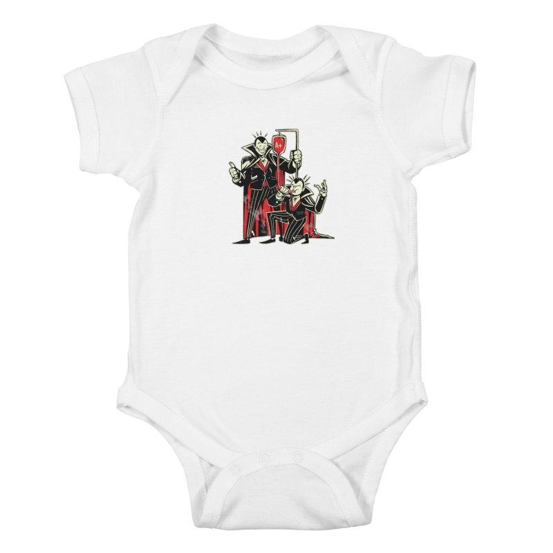 Vampire Blood Bong Kids Baby Bodysuit by Toxic Onion