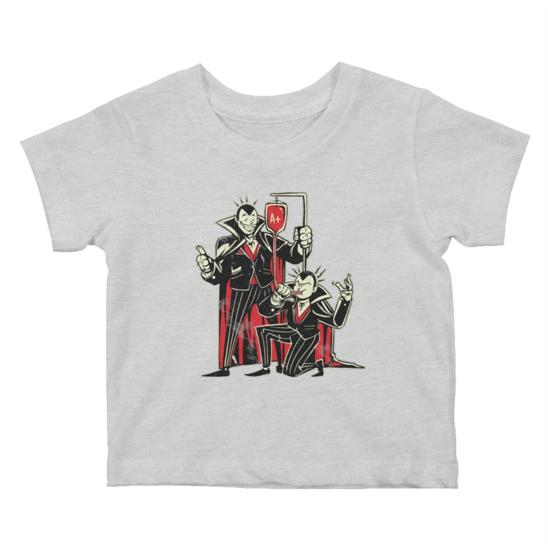 Vampire Blood Bong Kids Baby T-Shirt by Toxic Onion
