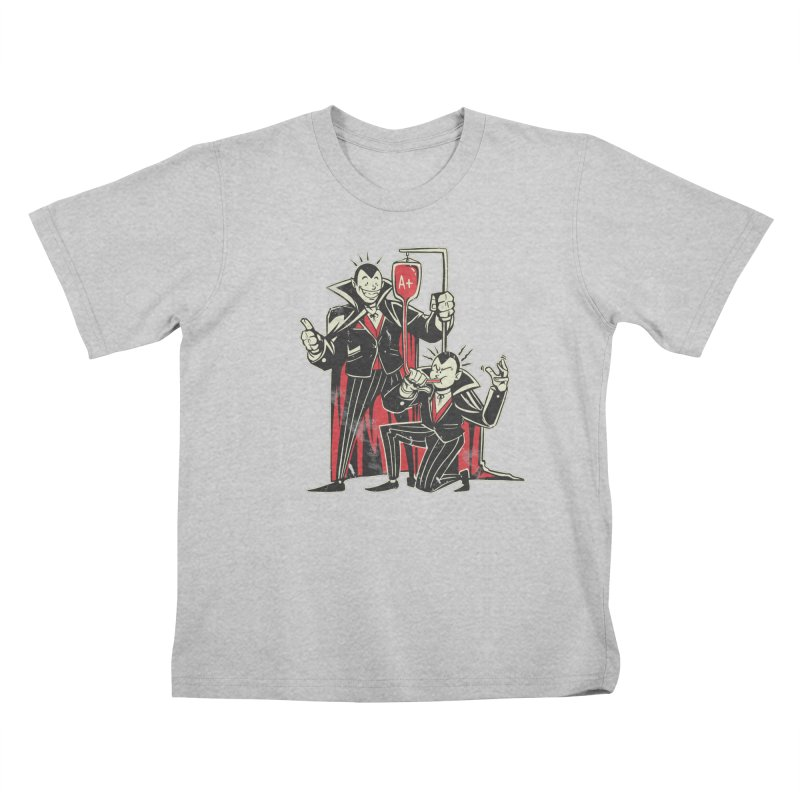 Vampire Blood Bong Kids T-Shirt by Toxic Onion