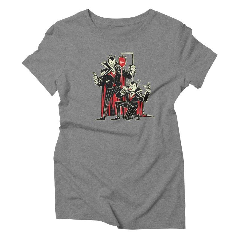 Vampire Blood Bong Women's Triblend T-Shirt by Toxic Onion