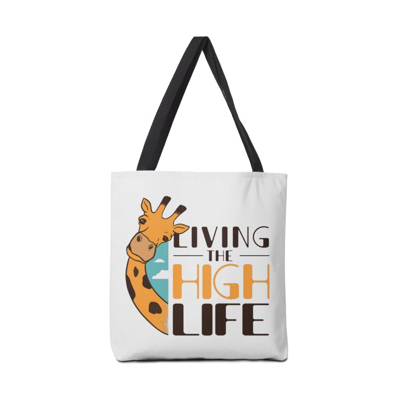 Living The High Life Accessories Bag by Toxic Onion