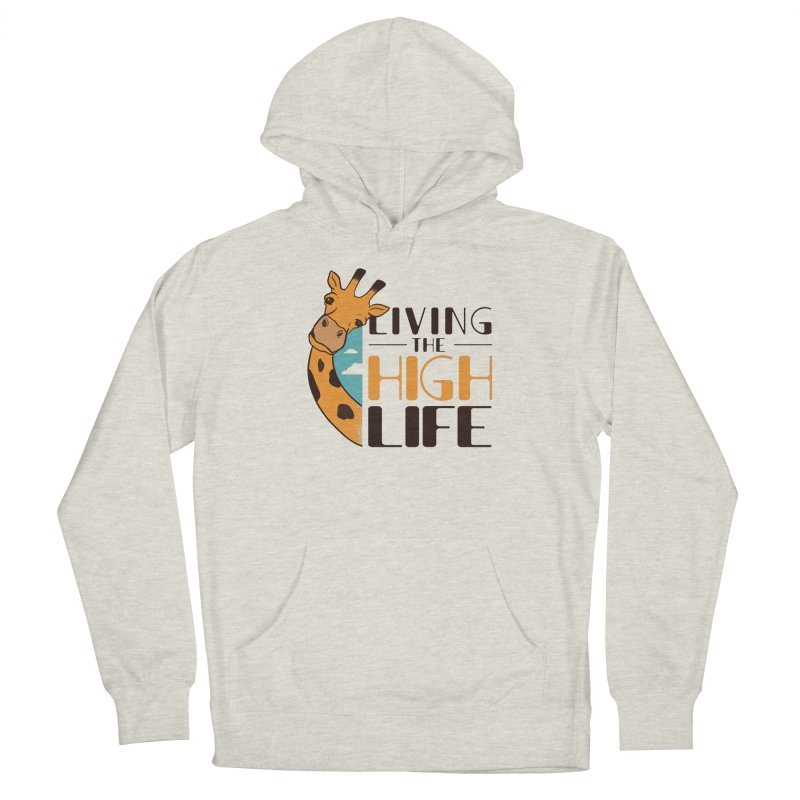 Living The High Life Men's Pullover Hoody by Toxic Onion