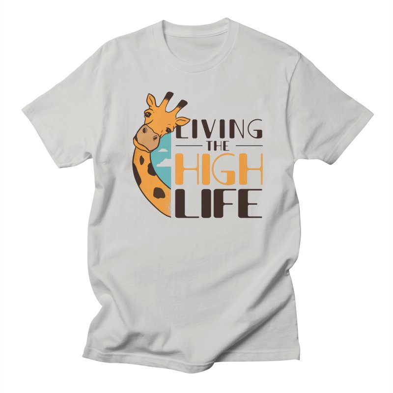 Living The High Life Men's T-Shirt by Toxic Onion