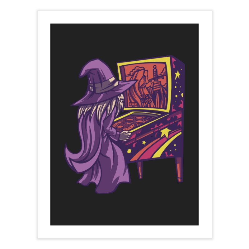 Pinball Wizard Home Fine Art Print by Toxic Onion