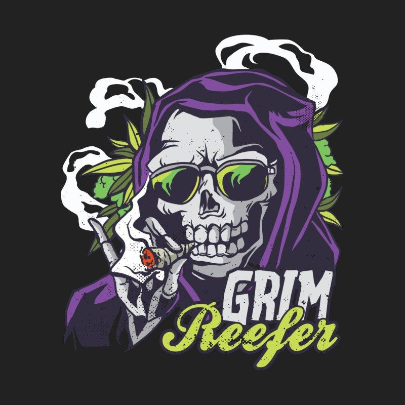Grim Reefer Men's T-Shirt by Toxic Onion