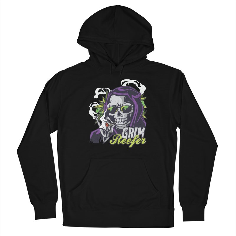 Grim Reefer Men's Pullover Hoody by Toxic Onion