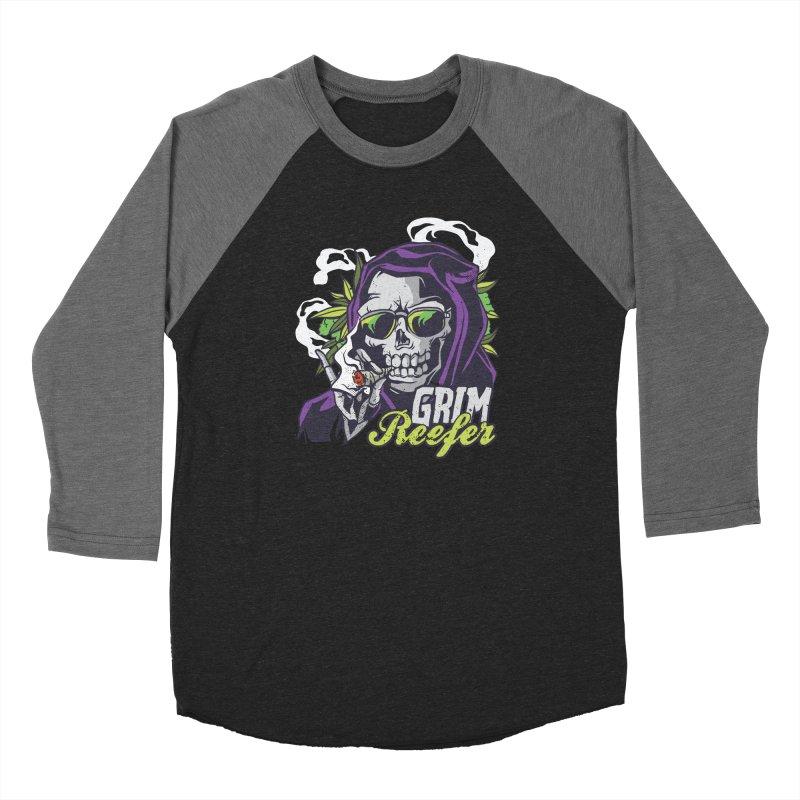 Grim Reefer Men's Longsleeve T-Shirt by Toxic Onion