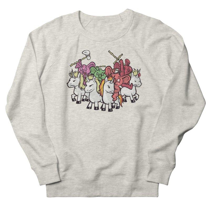 Unicorn Riding Koala Warriors Men's Sweatshirt by Toxic Onion
