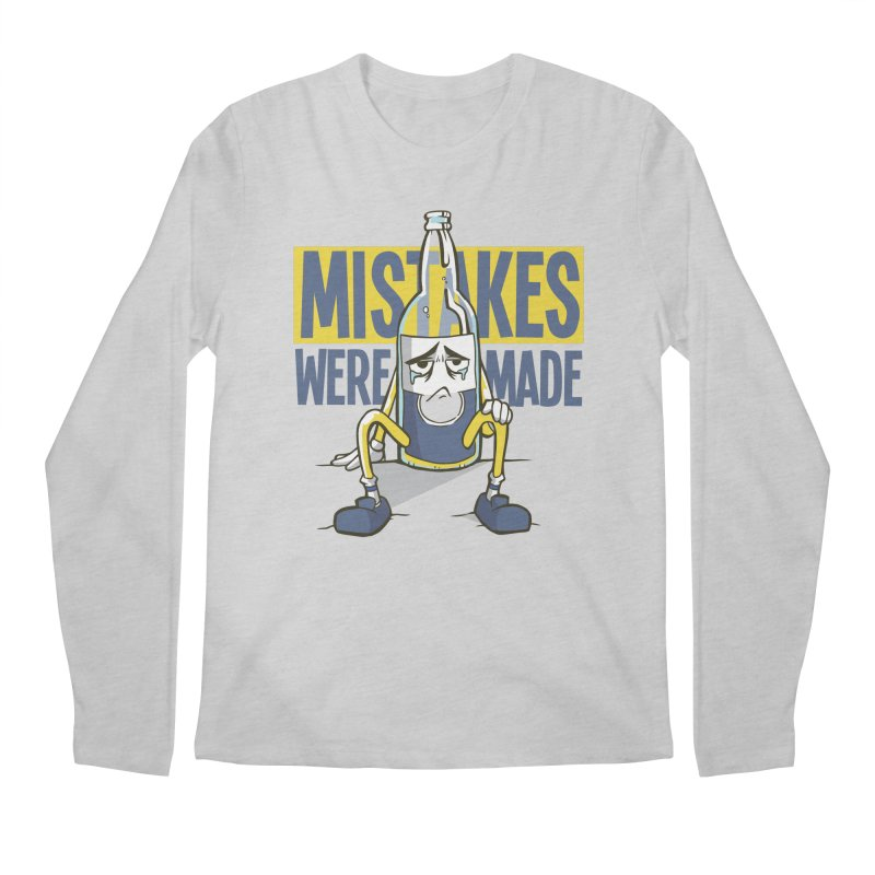 Mistakes Were Made Men's Longsleeve T-Shirt by Toxic Onion