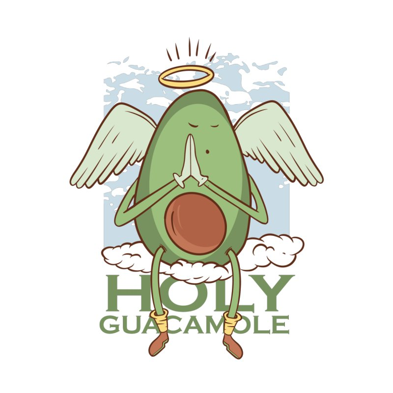 Holy Guacamole Men's T-Shirt by Toxic Onion
