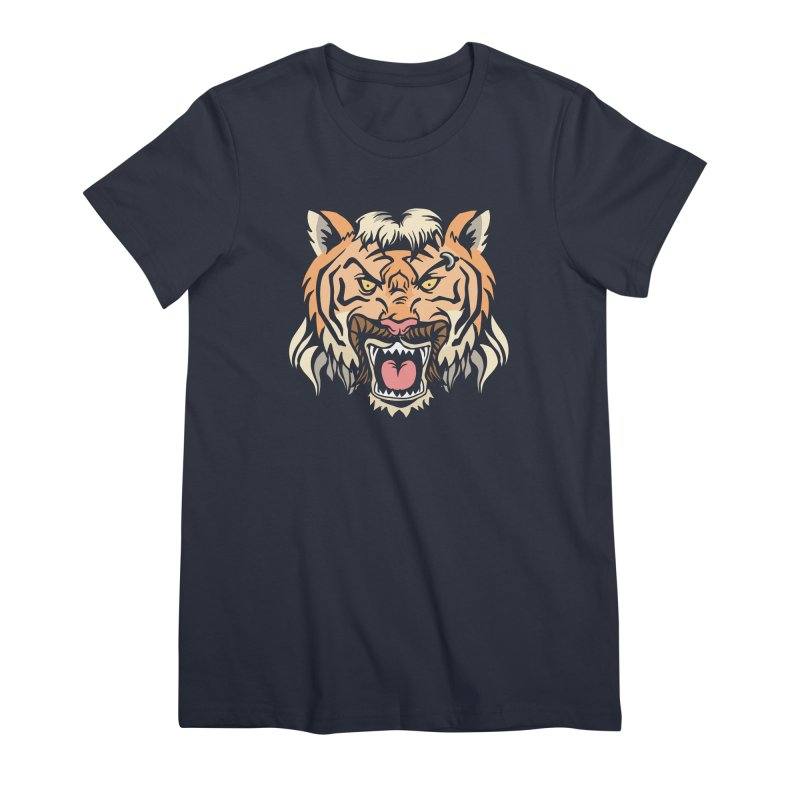 Tiger Mullet Women's T-Shirt by Toxic Onion - A Popular Ventures Company