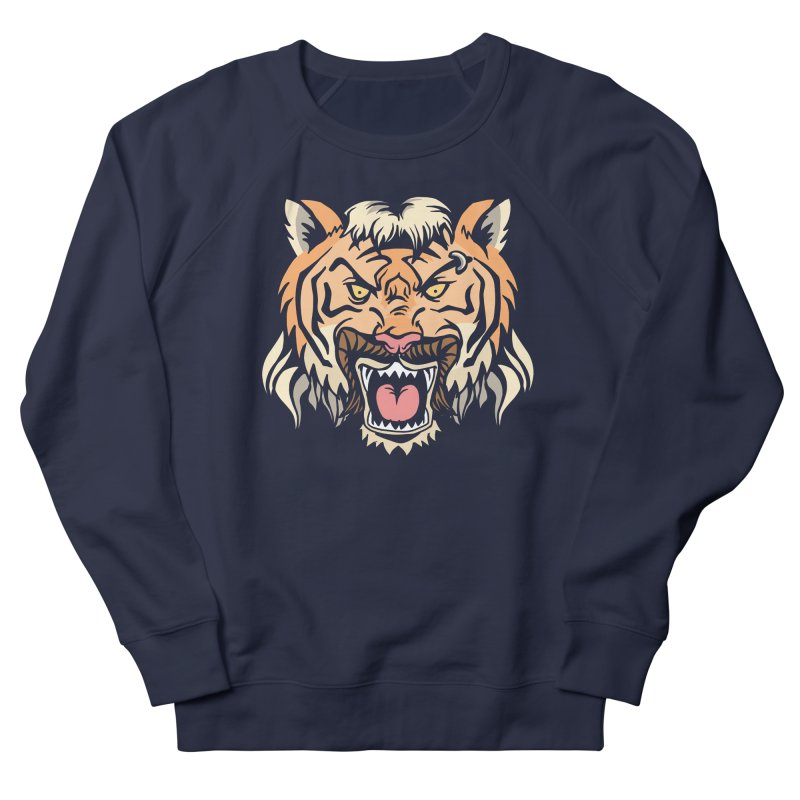 Tiger Mullet Women's Sweatshirt by Toxic Onion