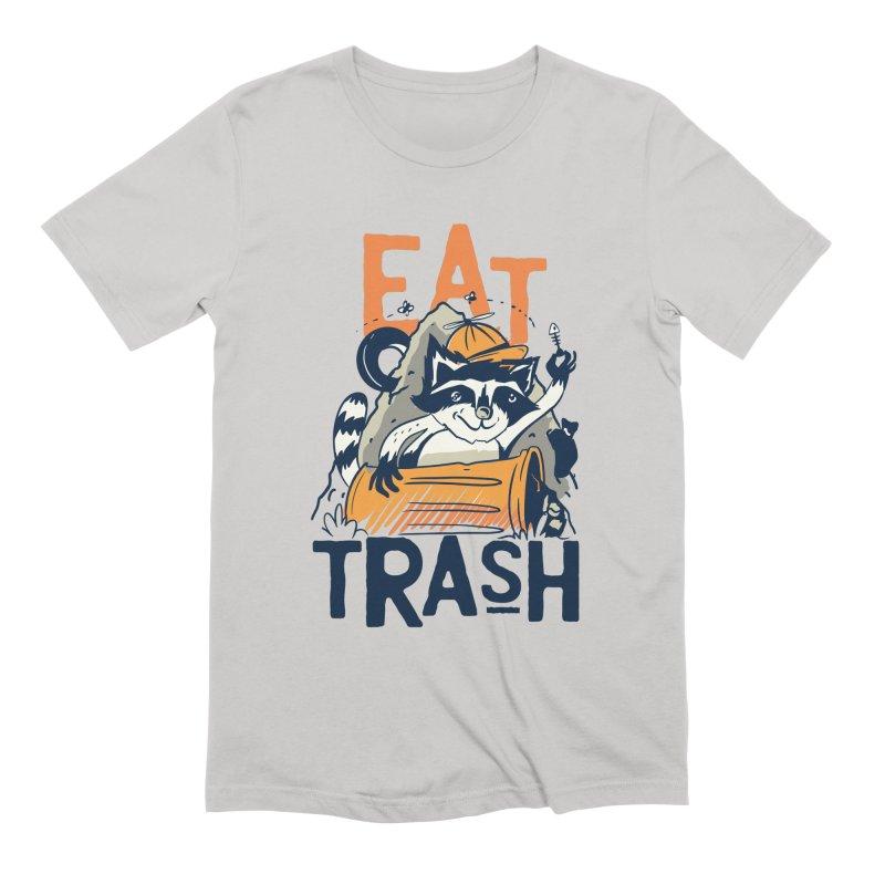 Eat Trash Men's T-Shirt by Toxic Onion
