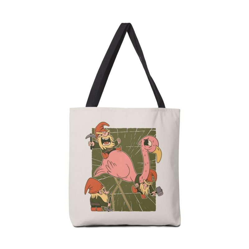 The Great Flamingo Hunt Accessories Bag by Toxic Onion