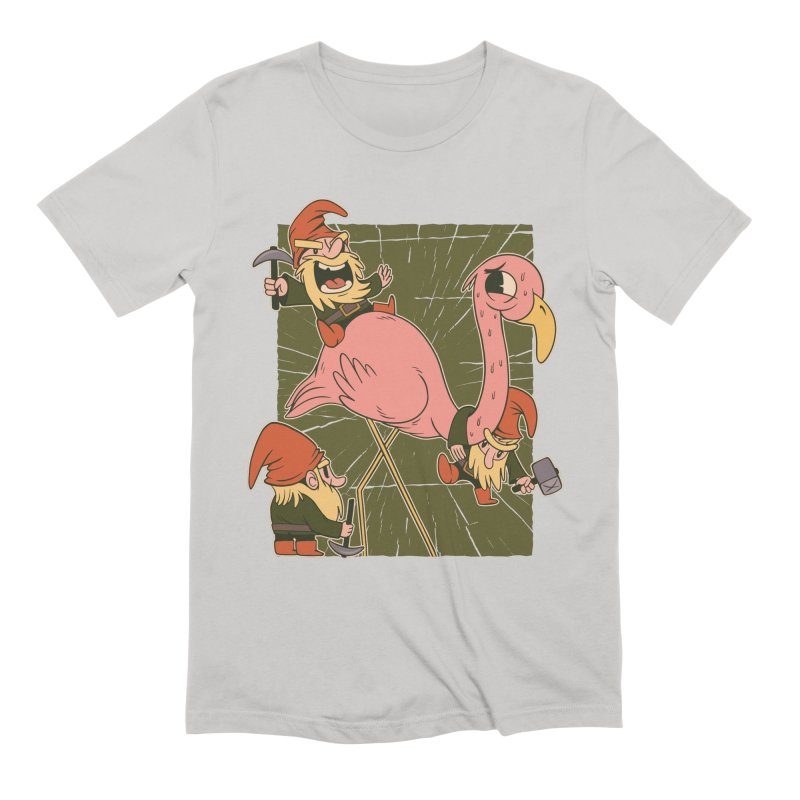 The Great Flamingo Hunt Men's T-Shirt by Toxic Onion