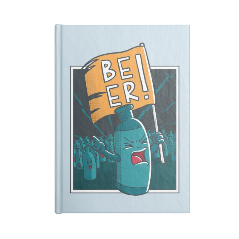 Beer Revolt Accessories Notebook by Toxic Onion