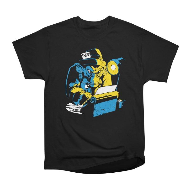 Mainstream Media Men's T-Shirt by Toxic Onion
