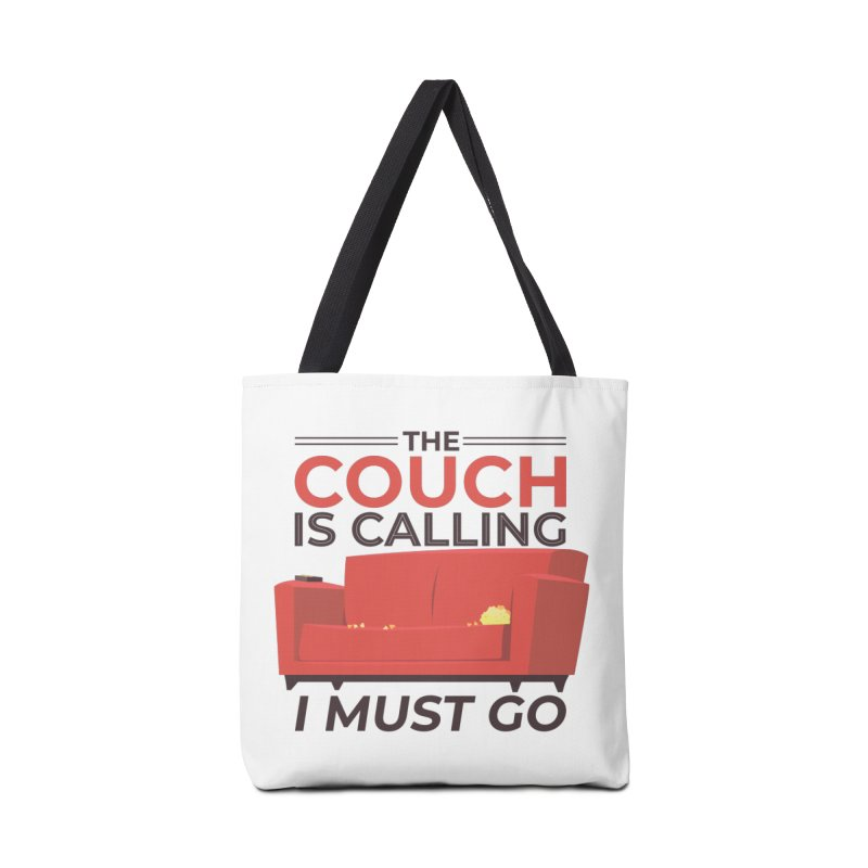 The Couch Is Calling Accessories Bag by Toxic Onion
