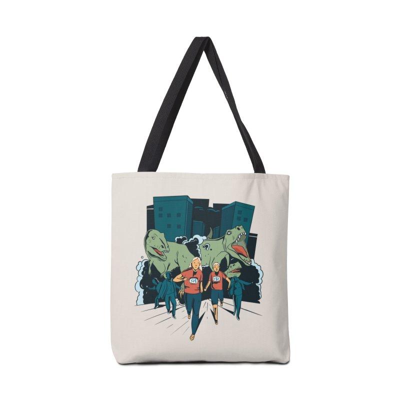 Dinosaur Marathon Accessories Bag by Toxic Onion